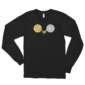 Bitcoin & Litecoin - Partnership Long Sleeve Shirt