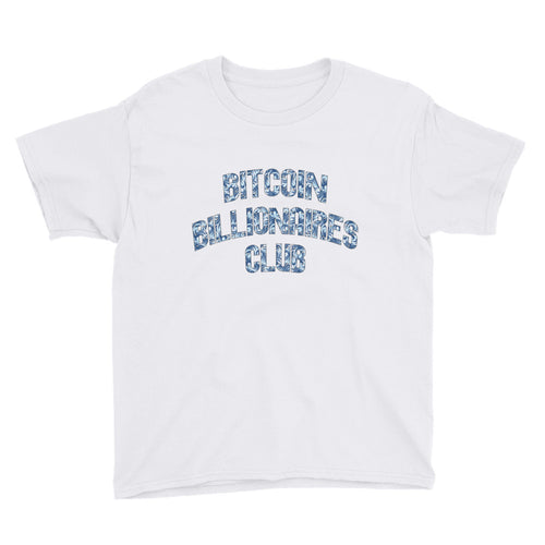 Bitcoin Billionaires Club Ice Youth Shirt