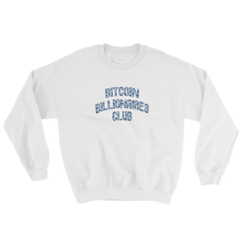 Bitcoin Billionaires Club Ice Sweatshirt