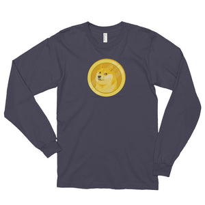Dogecoin - Logo Long Sleeve Shirt