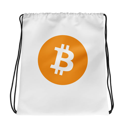 Bitcoin Drawstring Bag