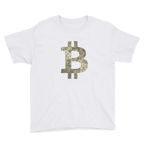 Bitcoin FIAT Logo Youth Shirt