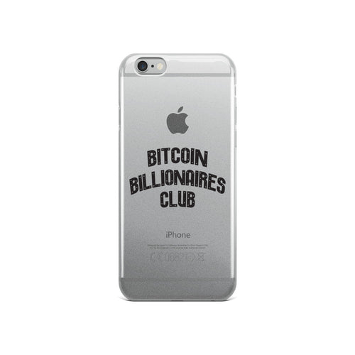 Bitcoin Billionaires Club - iPhone Case