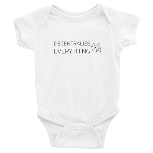 Decentralize Everything Baby Bodysuit