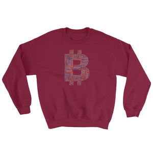 Bitcoin - Word Cloud Sweatshirt