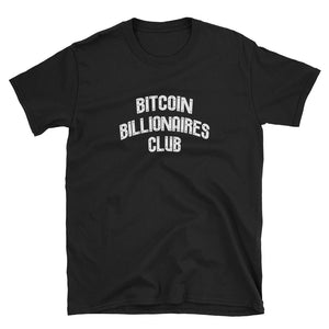 Bitcoin Billionaires Club Black Shirt
