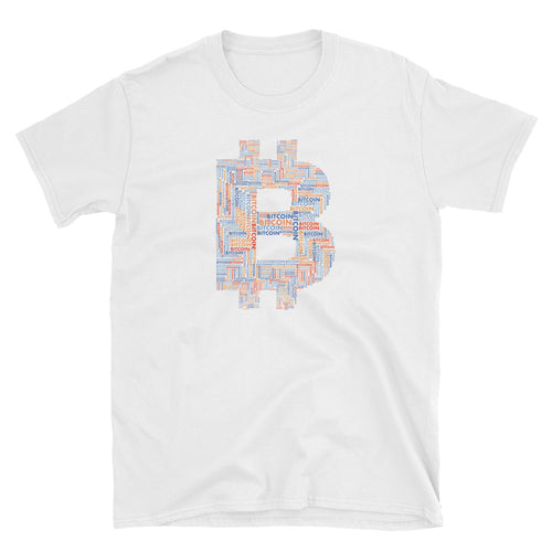Bitcoin - Word Cloud Tee