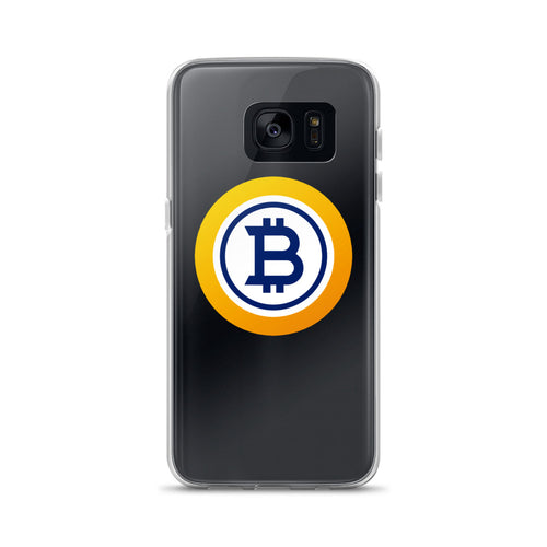Bitcoin Gold Samsung Case