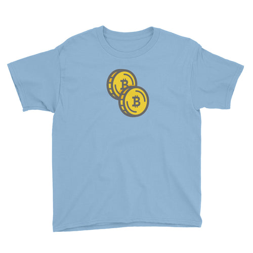 Bitcoin - Double Coin Youth Shirt