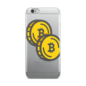Bitcoin Double Coin iPhone Case