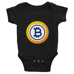 Bitcoin Gold Baby Bodysuit