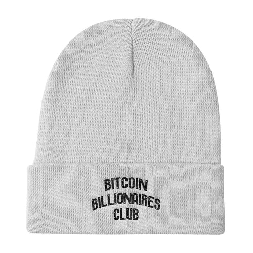 Bitcoin Billionaires Club - Light Beanie