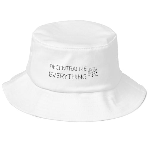 Decentralize Everything Bucket Hat