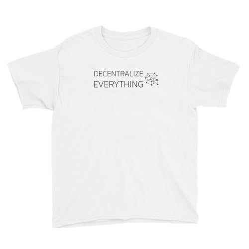 Decentralize Everything Youth Shirt