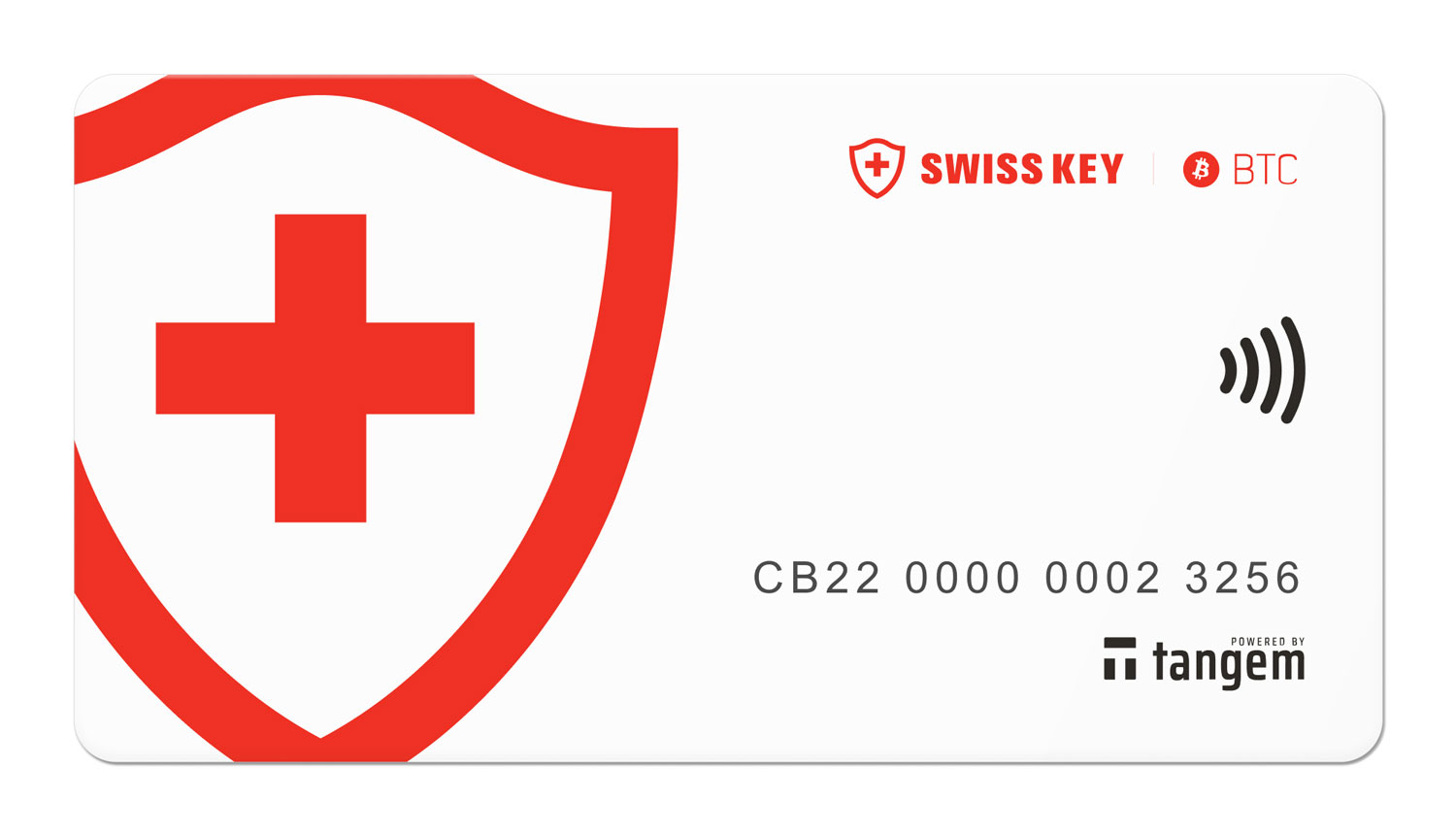 Tangem for Swisskey: BTC