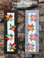 Desert Stars Table Runner PDF Pattern
