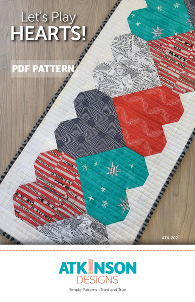 Let's Play Hearts PDF Pattern