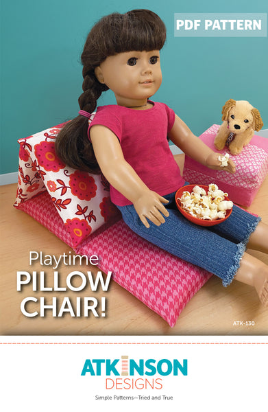 Playtime Pillow Chair PDF Pattern
