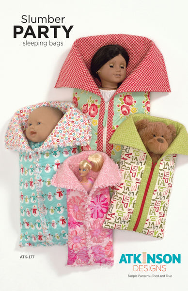 Slumber Party Sleeping Bags Pattern