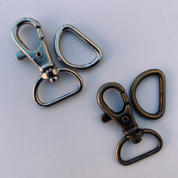 "3/4"" Swivel Clip & D Ring"