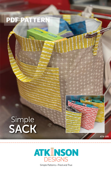 Simple Sack PDF Pattern