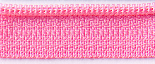 "Bubble Gum 14"" Zipper"