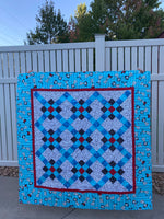 9 Patch Criss Cross Quilt