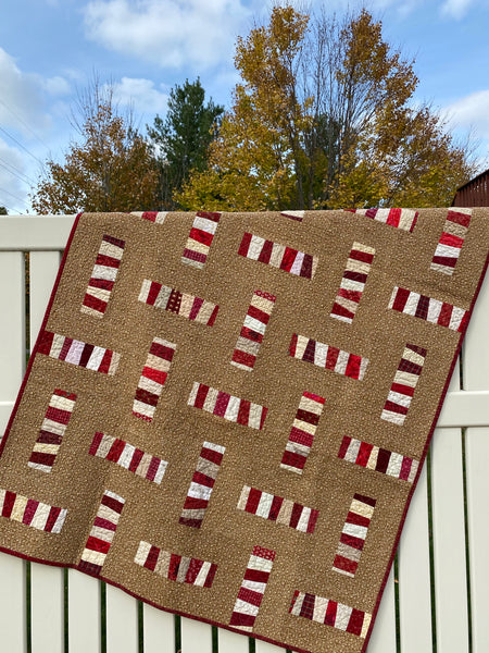 Peppermint Sticks Quilt