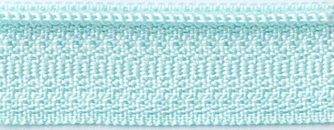 "Misty Teal 14"" Zipper"