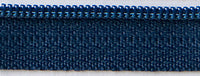 "Navy Blue 14"" Zipper"