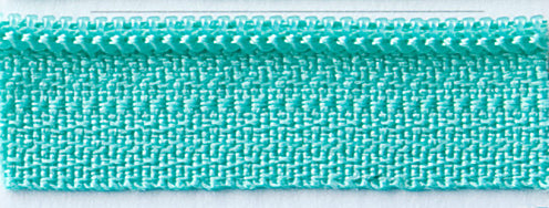 "Tahiti Teal 22"" Zipper"