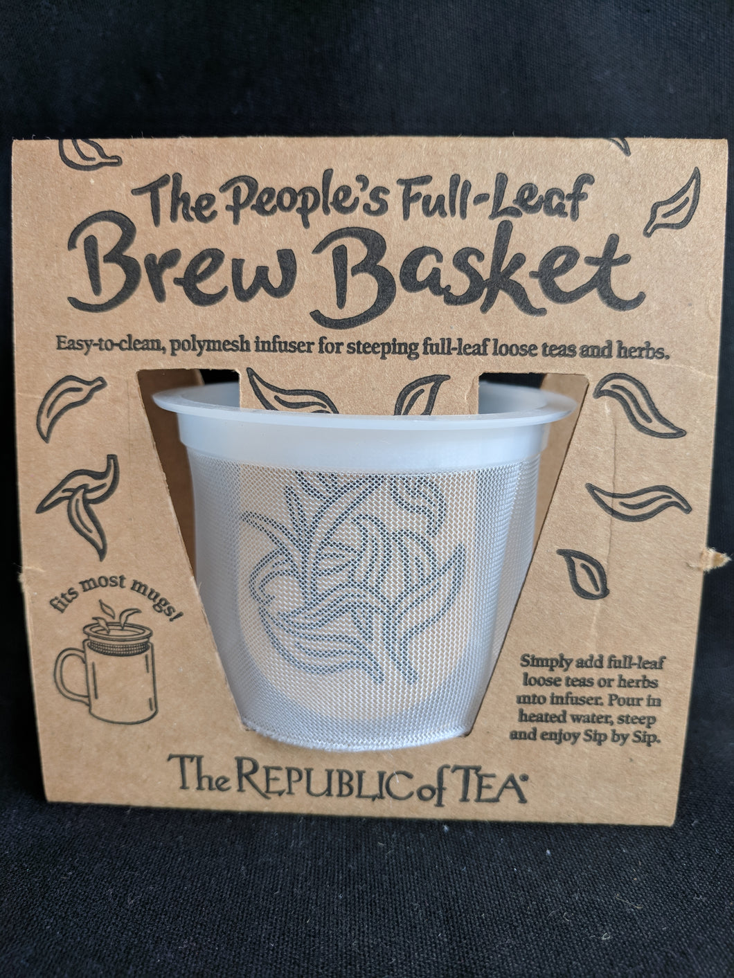 The People's Full Leaf Brew Basket
