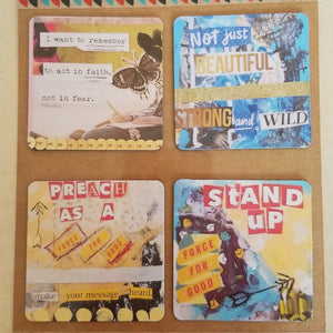 Stand Up set of 4 magnets