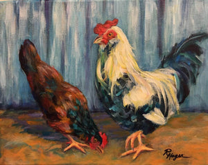 Rhonda Hager limited edition print, from her original paintings