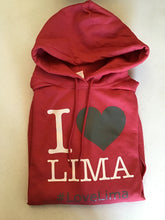I Love Lima Ohio Sweatshirt