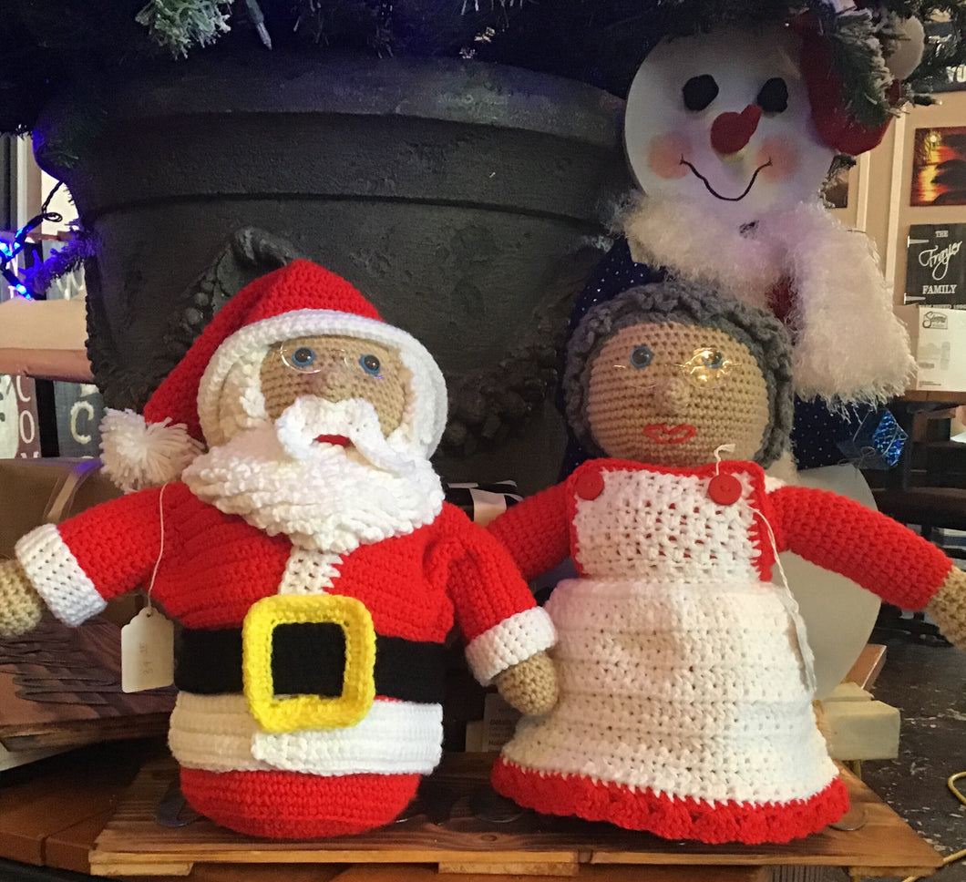 Crochet Mrs. Clause