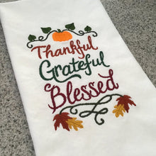 Fall Themed Tea Towels