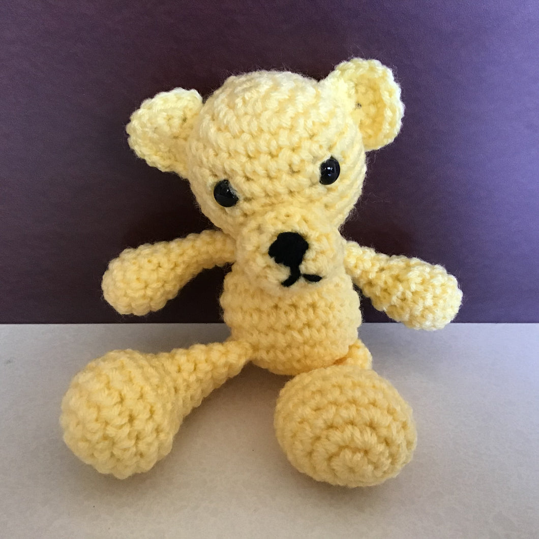 Small yellow bear