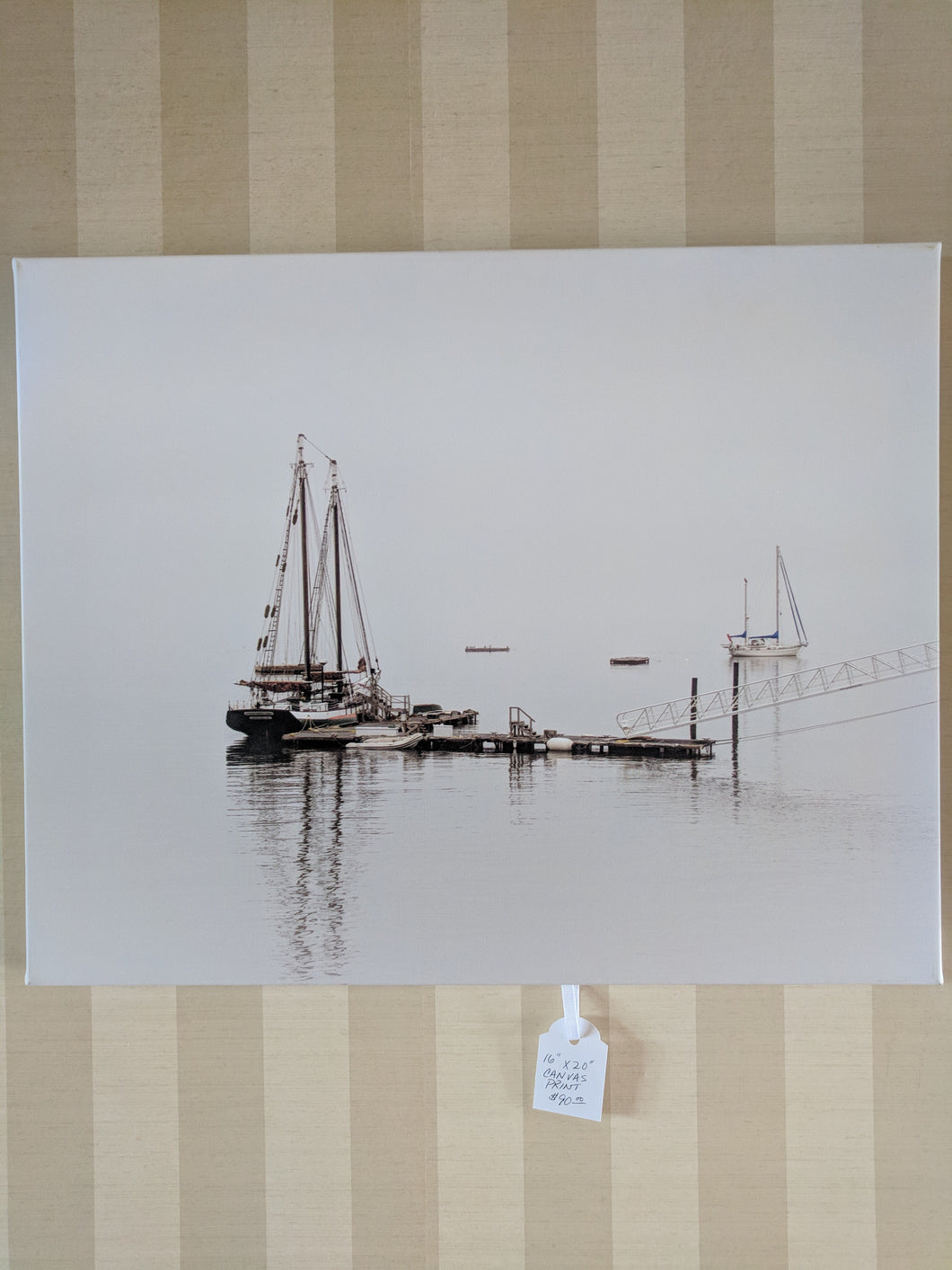 Boats on the harbor, 16