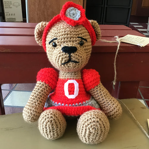 Ohio Stuffed Bear with Removable Head Band