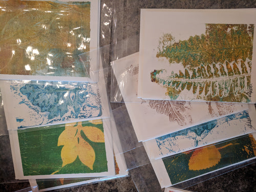 Small Original Art Greeting Cards, Sue Nocera Art Design