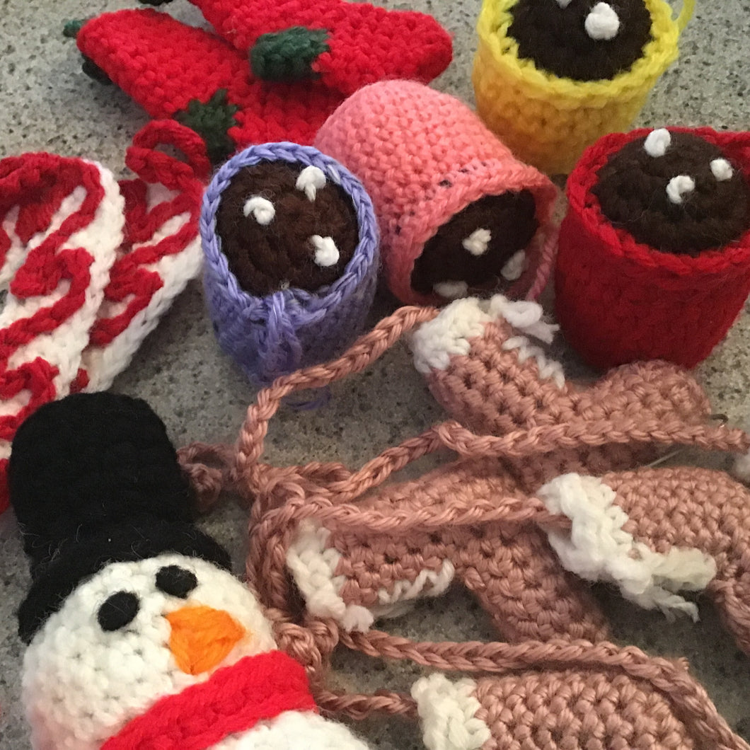 Crochet ornaments