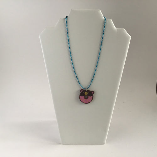 Donut essential oils necklace