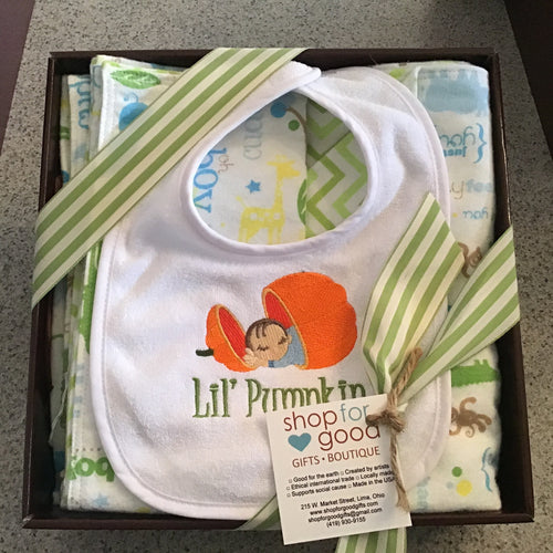 New baby gift basket for boy or girl