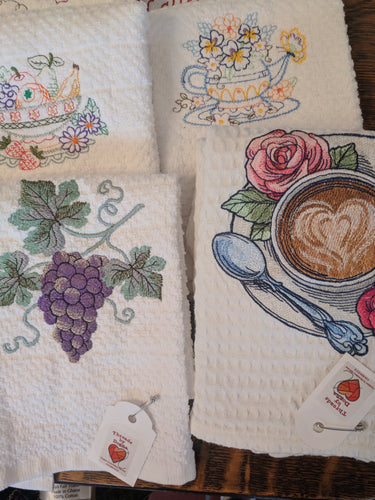 Tea Towels - Threads by Donna