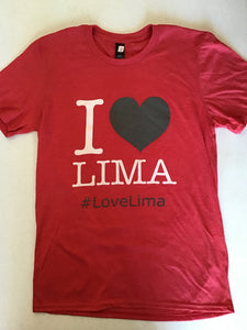 I Love Lima Ohio T shirt
