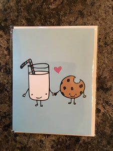 Cookie and Milk card
