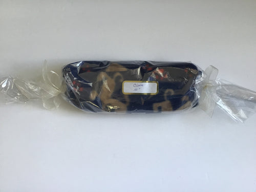 Handmade microwaveable hot pack in puppy print