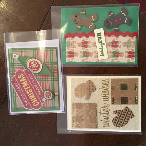 Christmas cards by Dee