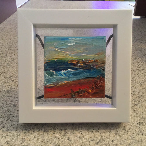 "Rhonda Hager original ""On The Shore"" (#226)"